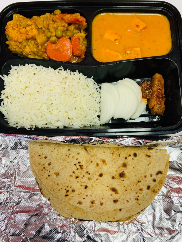 Indian Tiffin Meal Image USA